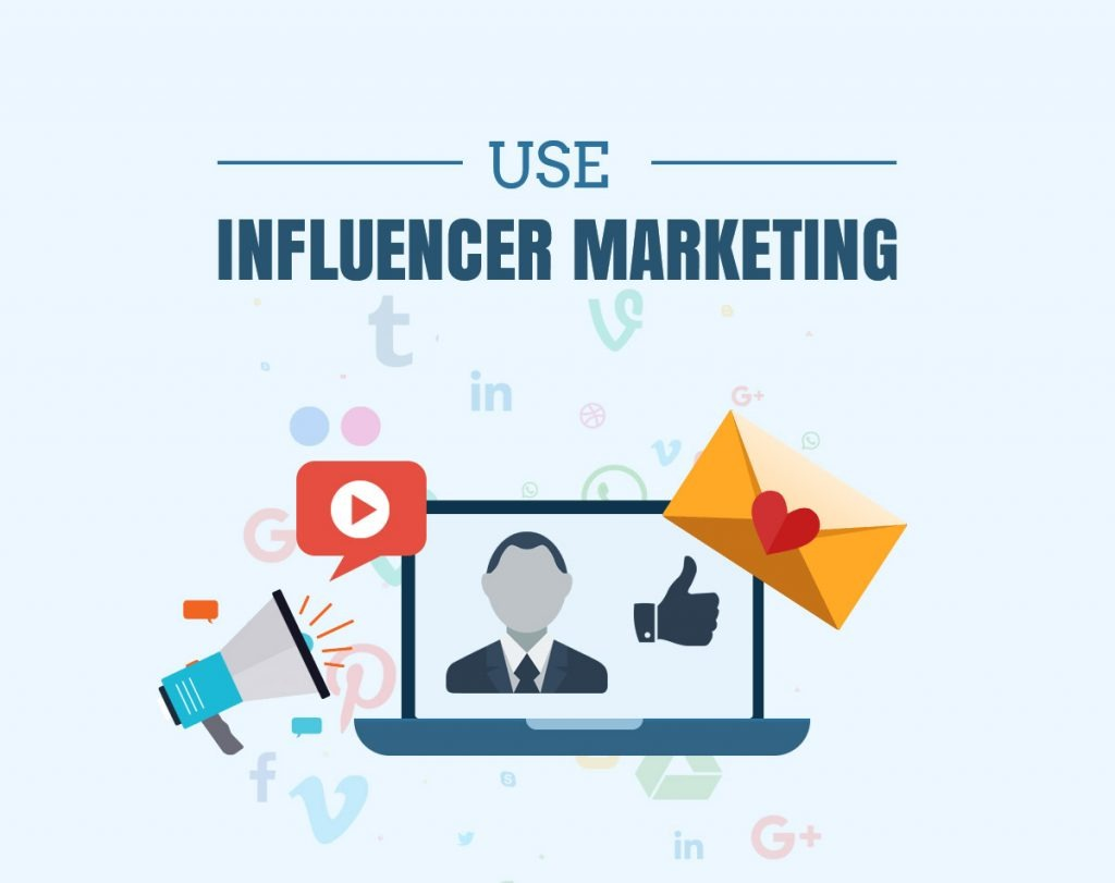 Use Influencer Marketing