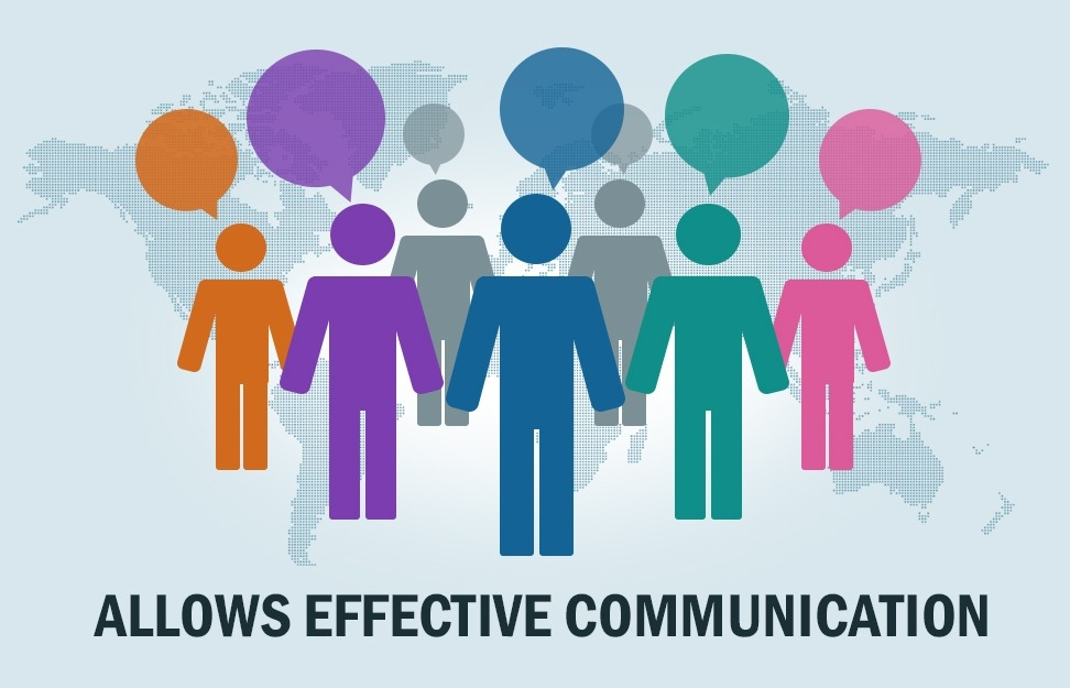 Allows effective communication